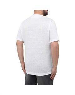 Льняная футболка Cortigiani