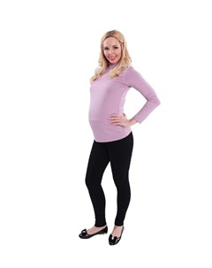 Леггинсы теплые с мехом для беременных Nuova vita