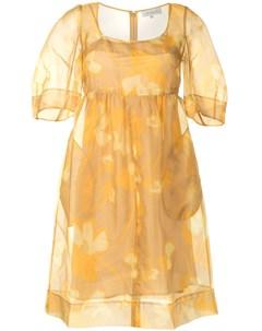 Платье Dakota с цветочным принтом Lee mathews
