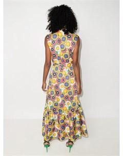Платье рубашка Brooke с принтом Borgo de nor