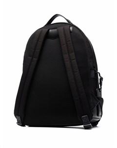 Рюкзак с контрастной окантовкой и нашивкой логотипом Emporio armani