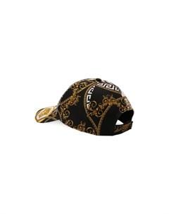 Хлопковая бейсболка Versace