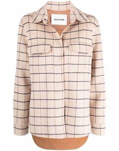 Клетчатая куртка рубашка Ava adore