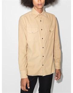 Вельветовая рубашка с длинными рукавами Tom ford