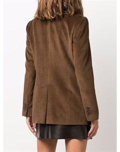 Вельветовый пиджак строгого кроя Parosh