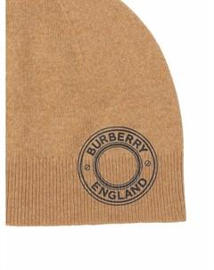 Шапка бини с логотипом Burberry
