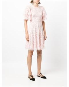 Платье Seren с пайетками Needle & thread