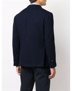 Двубортный пиджак из шерсти Lardini