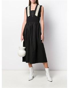 Платье с вышивкой Zeus+dione