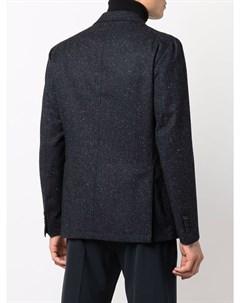 Двубортный пиджак строгого кроя Tagliatore