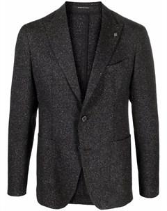 Однобортный пиджак строгого кроя Tagliatore