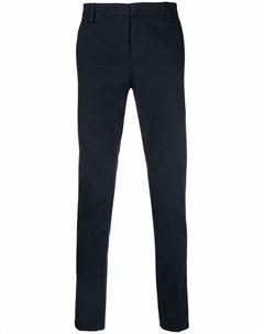 Узкие брюки чинос Dondup