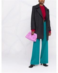Двубортное пальто Alberta ferretti
