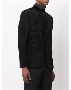 Однобортный пиджак Giorgio armani
