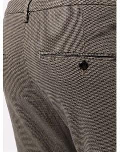 Узкие брюки с заниженной талией Dondup