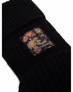 Перчатки митенки Emporio armani