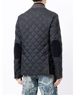 Стеганый однобортный пиджак Etro
