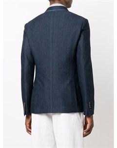 Однобортный пиджак из джерси Etro