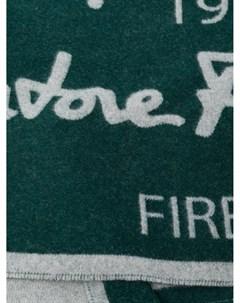 Шарф с логотипом Salvatore ferragamo