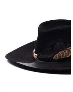 Шляпа федора со вставками Nick fouquet