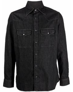 Джинсовая рубашка с длинными рукавами Tom ford
