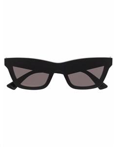 Солнцезащитные очки в оправе кошачий глаз Bottega veneta
