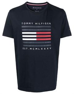 Футболка с логотипом Tommy hilfiger