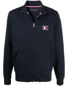 Спортивная куртка с нашивкой логотипом Tommy hilfiger