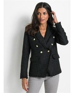 Пиджак из букле с бахромой Bonprix