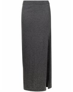 Трикотажная юбка с логотипом Blugirl