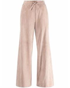 Широкие брюки с завязками Brunello cucinelli