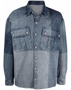 Джинсовая рубашка из органического хлопка 032c