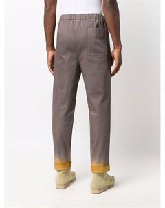 Прямые джинсы с эффектом градиента Nick fouquet