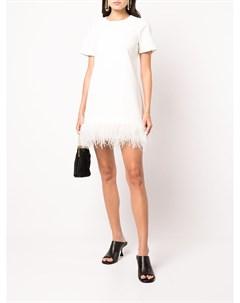 Платье мини с перьями Likely