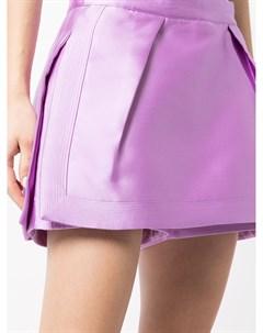 Структурированная юбка шорты Mikado Isabel sanchis