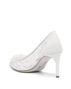 Кружевные туфли с кристаллами Rene caovilla