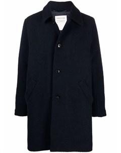 Однобортное пальто на пуговицах A kind of guise