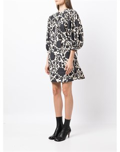 Платье мини с графичным принтом Eudon choi