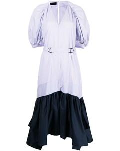 Платье в стиле колор блок Eudon choi