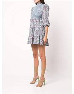 Платье мини Sonny со сборками Likely