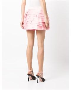Многослойная юбка шорты из органзы Isabel sanchis
