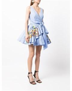 Платье с пышной юбкой Stella jean