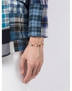 Соломенный браслет с подвесками Nick fouquet