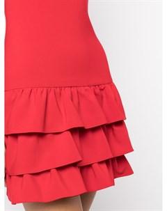 Платье мини с оборками Likely