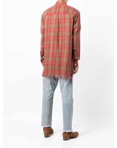 Клетчатая рубашка с длинными рукавами Nick fouquet