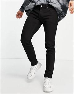 Черные джинсы скинни Alessandro Wesc