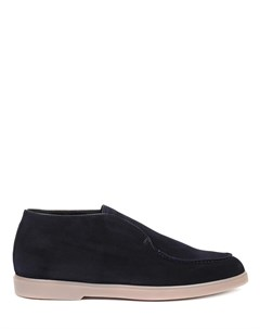Ботинки замшевые на меху Brecos