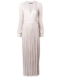 Плиссированное удлиненное платье Antonino valenti