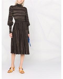 Трикотажное платье в полоску Antonino valenti
