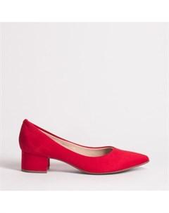 Красные текстильные туфли Beira rio